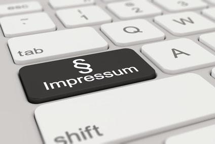 Grafik mit dem Titel Impressum